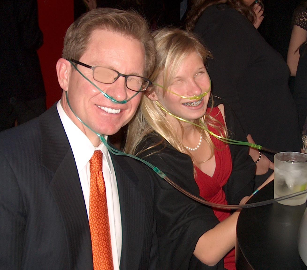 Oxygen Bar at Birthday Party
