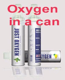 Oxygen in a can, Sports Oxygen